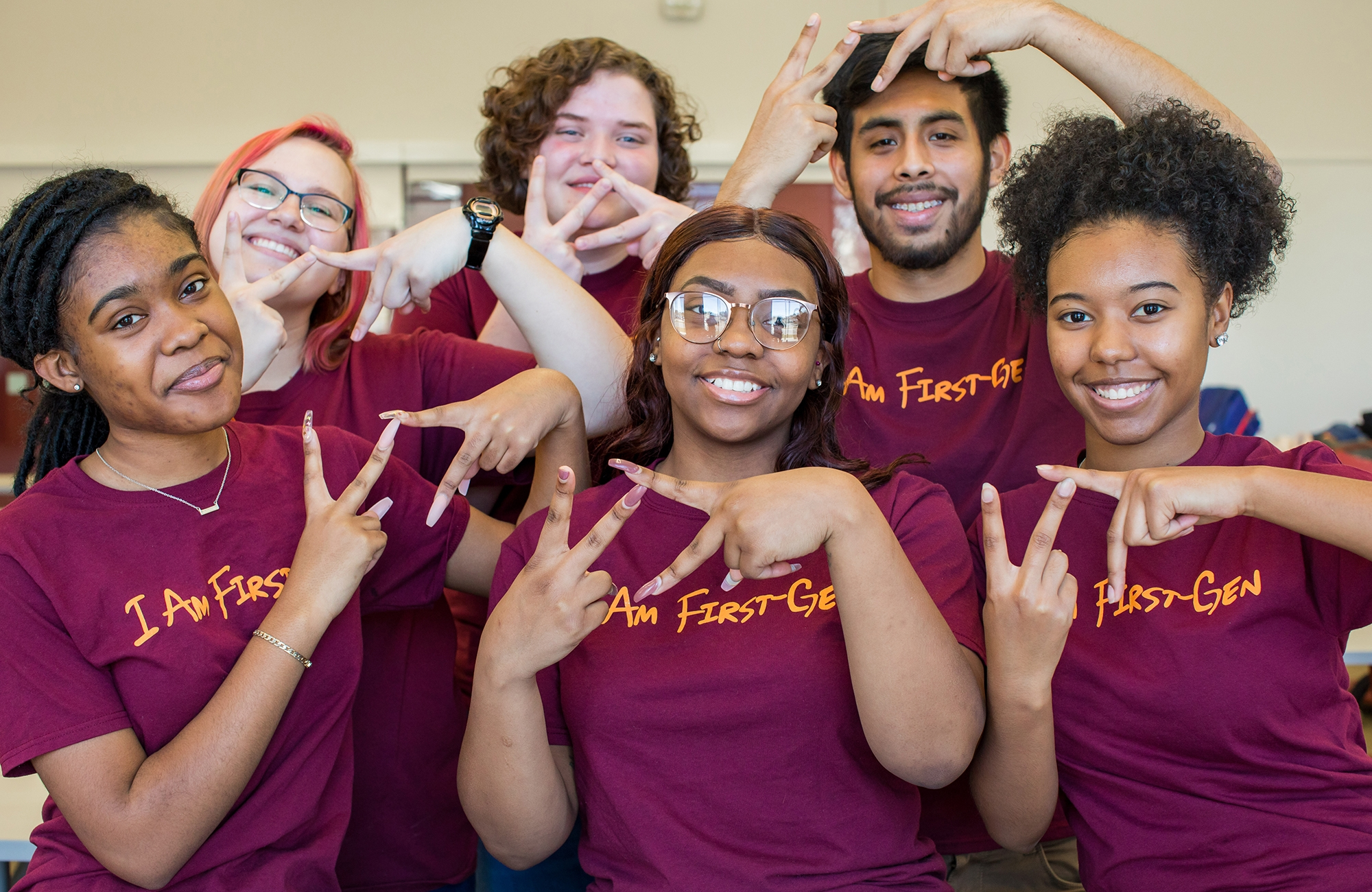 Group of First-Gen Virginia Tech Students